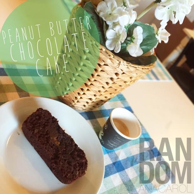 BEST PB-CHOCOLATE CAKE